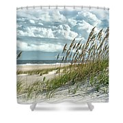 Ocean Breeze At Fort Fisher - Number One Shower Curtain