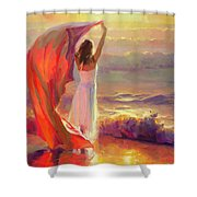 Ocean Breeze Shower Curtain