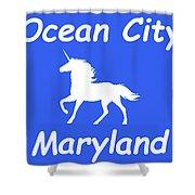 Ocean City Md Shower Curtain