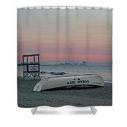 Ocean City Mornings Shower Curtain