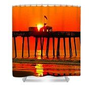 Ocean City Sunrise Shower Curtain