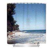 Ocean Cliffside Shower Curtain