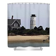 Ocean Cottage Shower Curtain