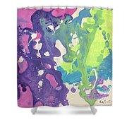 Ocean Explosion Shower Curtain