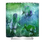 Ocean Fantasy 4 Shower Curtain