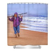 Ocean Fisherman Shower Curtain