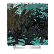 Ocean Fury Shower Curtain