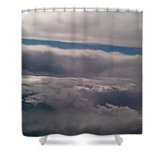 Ocean In The Sky Shower Curtain