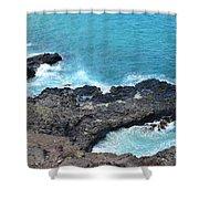 Ocean Inlet Shower Curtain