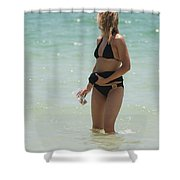 Ocean Lady Shower Curtain