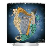 Ocean Lullaby3 Shower Curtain