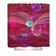 Ocean Of Sweet Wishes Shower Curtain