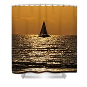 Ocean Of Time Shower Curtain