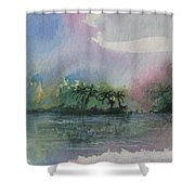 Ocean Pearls Shower Curtain