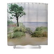 Ocean Scene Shower Curtain