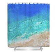 Ocean Series 02 Shower Curtain