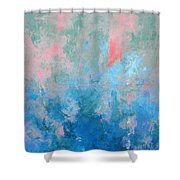 Ocean Series Xxvii Shower Curtain