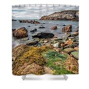 Ocean Stones Shower Curtain