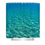 Ocean Surface Reflections Shower Curtain