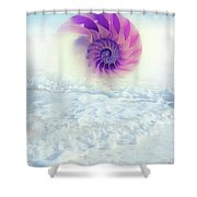 Ocean To Infinity Shower Curtain