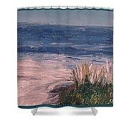 Ocean Trail Shower Curtain
