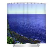 Ocean View From North Head Shower Curtain