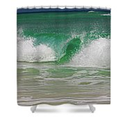 Ocean Wave 3 Shower Curtain