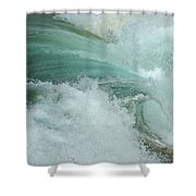 Ocean Wave 4 Shower Curtain