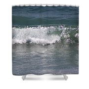 Ocean Wave On The Pacific In Huntington Beach Shower Curtain