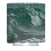 Ocean Waves 2 Shower Curtain
