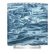 Ocean Waves_1 Shower Curtain