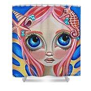 Oceanic Fairy Shower Curtain