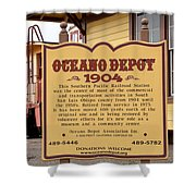 Oceano Depot 1904 Shower Curtain