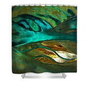Oceans About You Shower Curtain