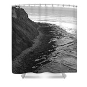 Oceans Edge Shower Curtain