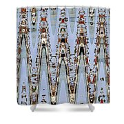 Oceanside California Abstract, Shower Curtain