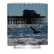Oceanside Resident Photograph Shower Curtain