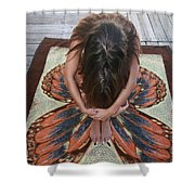 Ochopee Fl. Butterfly Shower Curtain
