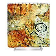 Ochre 43 Shower Curtain