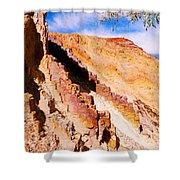 Ochre Pits #3 - West Mcdonald Ranges Shower Curtain