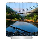Ocoee Dam 3 Shower Curtain