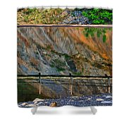 Ocoee Dam Reflection Shower Curtain