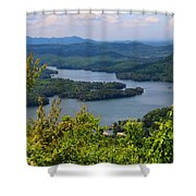 Ocoee Lake 2 Shower Curtain