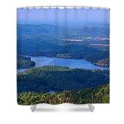 Ocoee Lake Shower Curtain