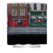 Oconnells Pub And The Batchelor Inn - Dublin Ireland Shower Curtain