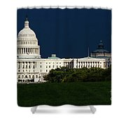 October Capitol Shower Curtain