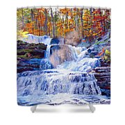 October Falls Shower Curtain