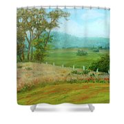 October Hills In Middletown Md Shower Curtain