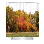October In Maine 4 Shower Curtain