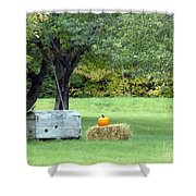 October In Maine Shower Curtain